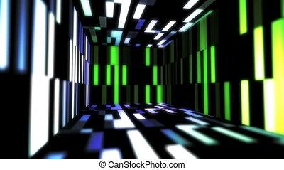 couleur, technologie, salle