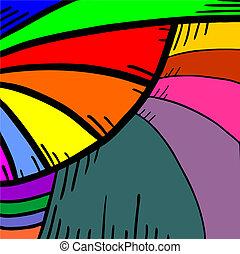 couleur, vagues