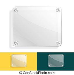 couleur, verre, variations, fond
