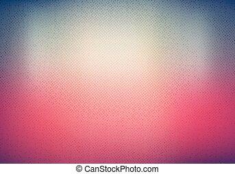 couleur, vibrant, résumé, effet, brouillé, gradient, fond, halftone, texture.
