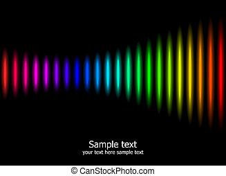 couleurs arc-en-ciel, fond, résumé