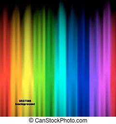 couleurs, arc-en-ciel, résumé