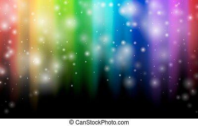 couleurs arc-en-ciel, résumé