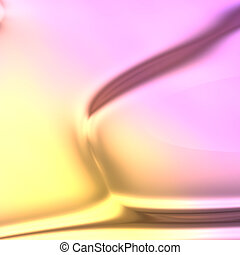 couleurs, fluide, écoulement