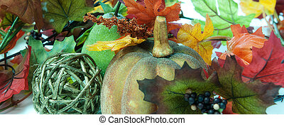 couleurs, frontière, automne