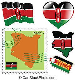 couleurs, kenya, national