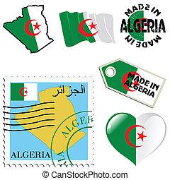 couleurs, national, algérie