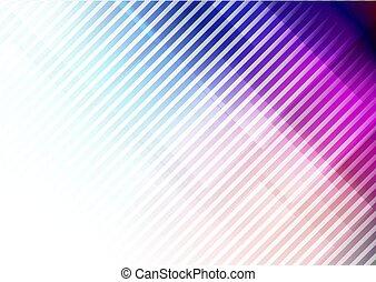 couleurs, résumé, lignes, diagonal, fond