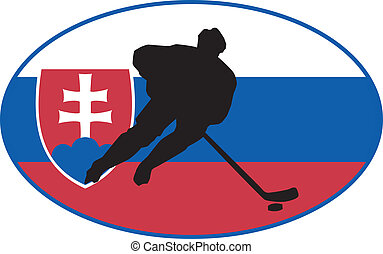 couleurs, slovaquie, hockey