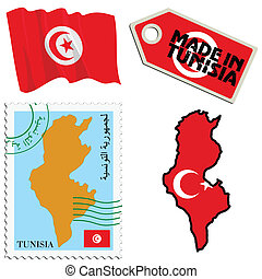couleurs, tunisie, national