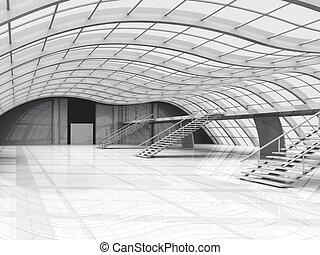 couloir, architecture