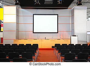 couloir conférence