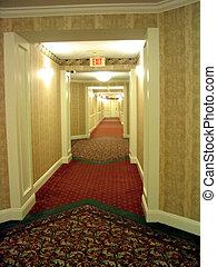 couloir, hôtel