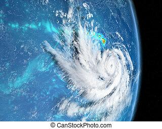 couloir, ouragan