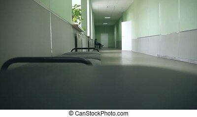 couloir, smartphone, université, wi, fenêtre accès,...