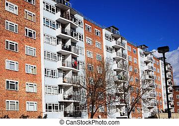 Council Flats - Public council housing apartments in London,...