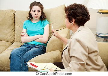 Counseling - Angry Teen