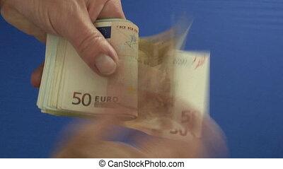count money blue