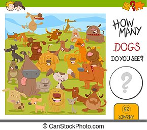 count the dogs game