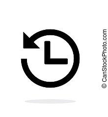 Countdown icon on white background.