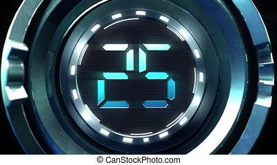 Countdown On Steel Ball.