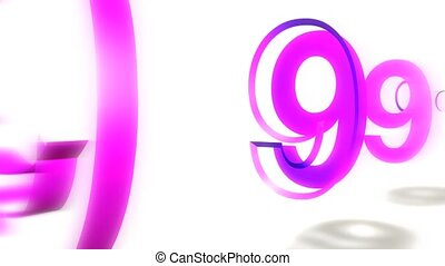 Countdown Shattered Purple