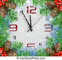 Countdown to New Year, holidays backgrounds