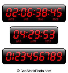 countdown, zeitgeber