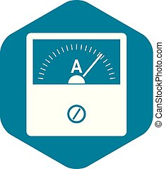 Counter icon. Simple illustration of counter vector icon for web