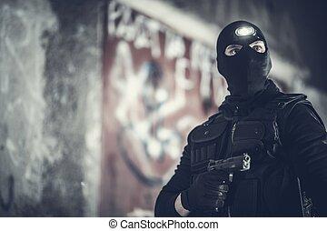Counter Terrorist Portrait