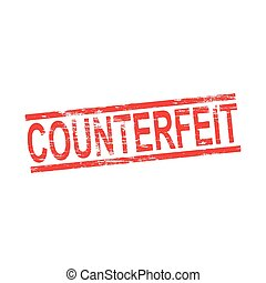 Counterfeit Rubber Stamp