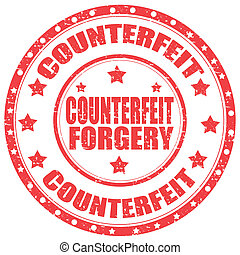 Counterfeit-stamp