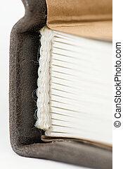 counterfoil, boekjes , closeup