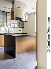 countertop, modern, kueche