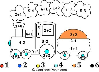 Counting and drawings for small chi - Calculate the examples...