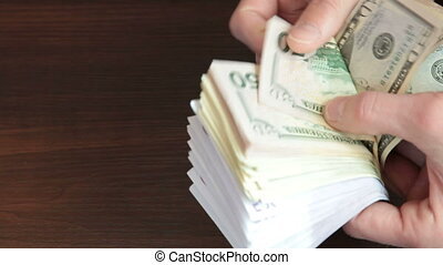 Counting Cash Money