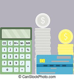 Counting finance design flat