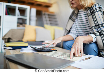 Counting Home Finances