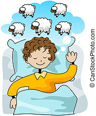 Counting Sheep with Clipping Path