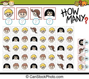 counting task for children