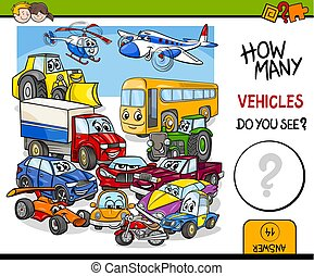 counting vehicles educational activity