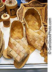 Country bast shoes - the historical footwear of the Russian peasant