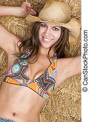 Country Bikini Girl