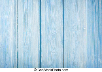 Country blue wooden table