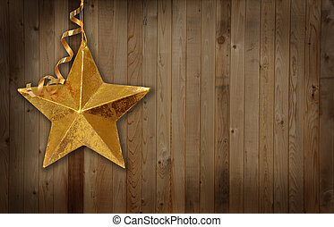 Country Christmas star
