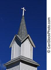 Country Church Steeple