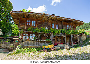 Country coaching inn in Bulgaria - Mountain eco-village...
