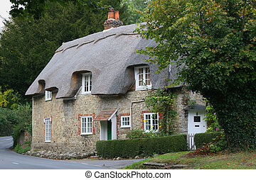 Country cottage - English village country cottage