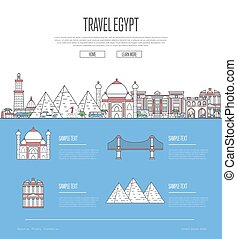 Country Egypt travel vacation guide