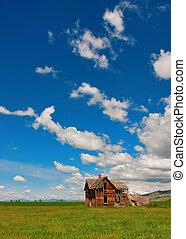 Country Farm house abandon